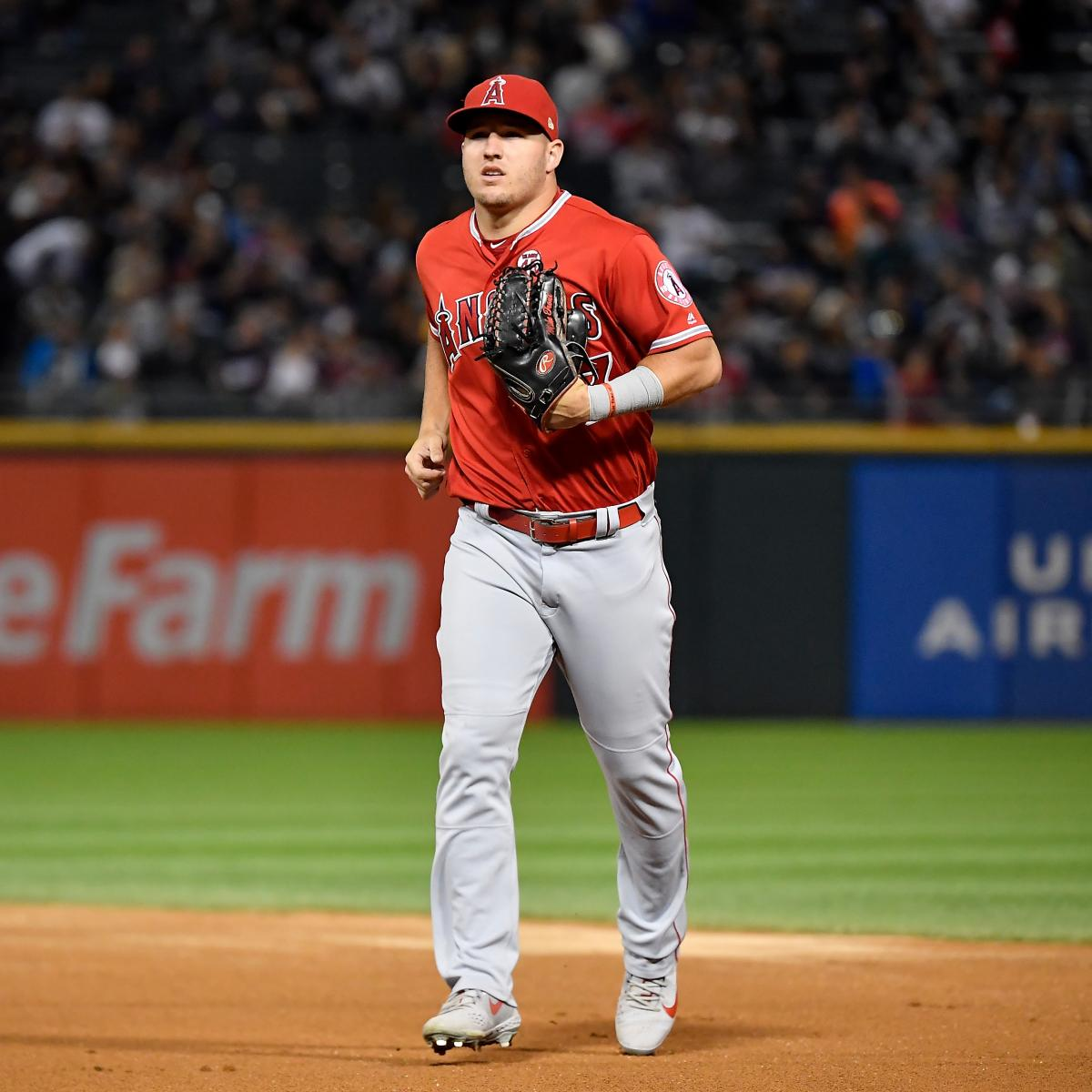 Mike Trout Says He 'Lost Respect for Some' Astros Players, Denies HGH Rumors