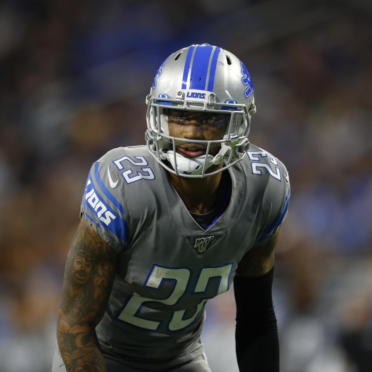 Darius Slay Trade Rumors: Lions Have Spoken to Multiple Teams About Deal for CB