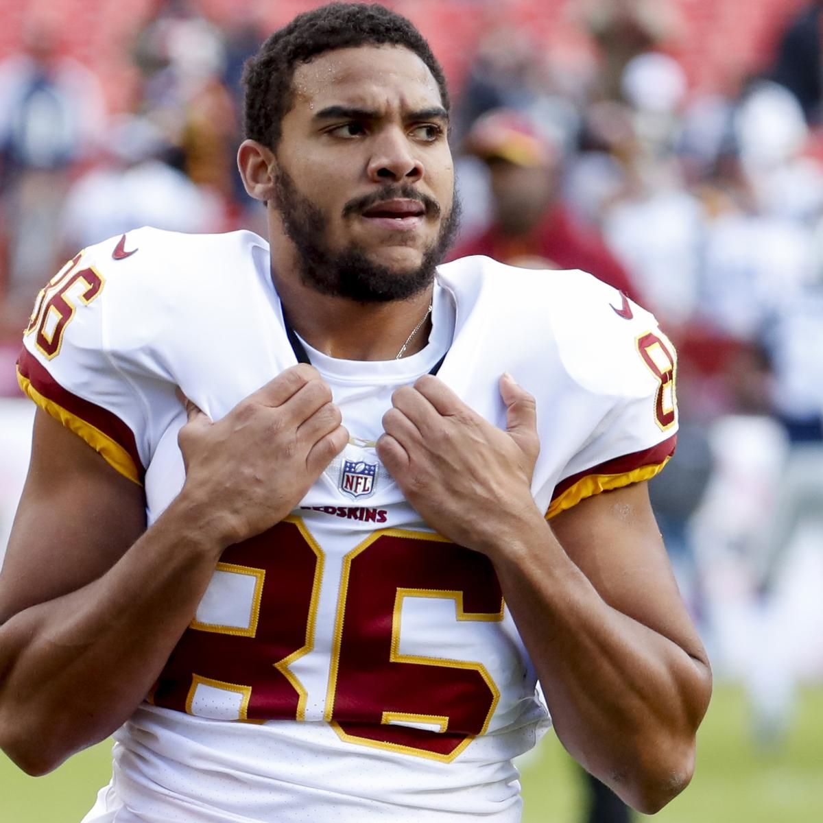 Jordan Reed Remains in Concussion Protocol After Missing 2019 Season with Injury