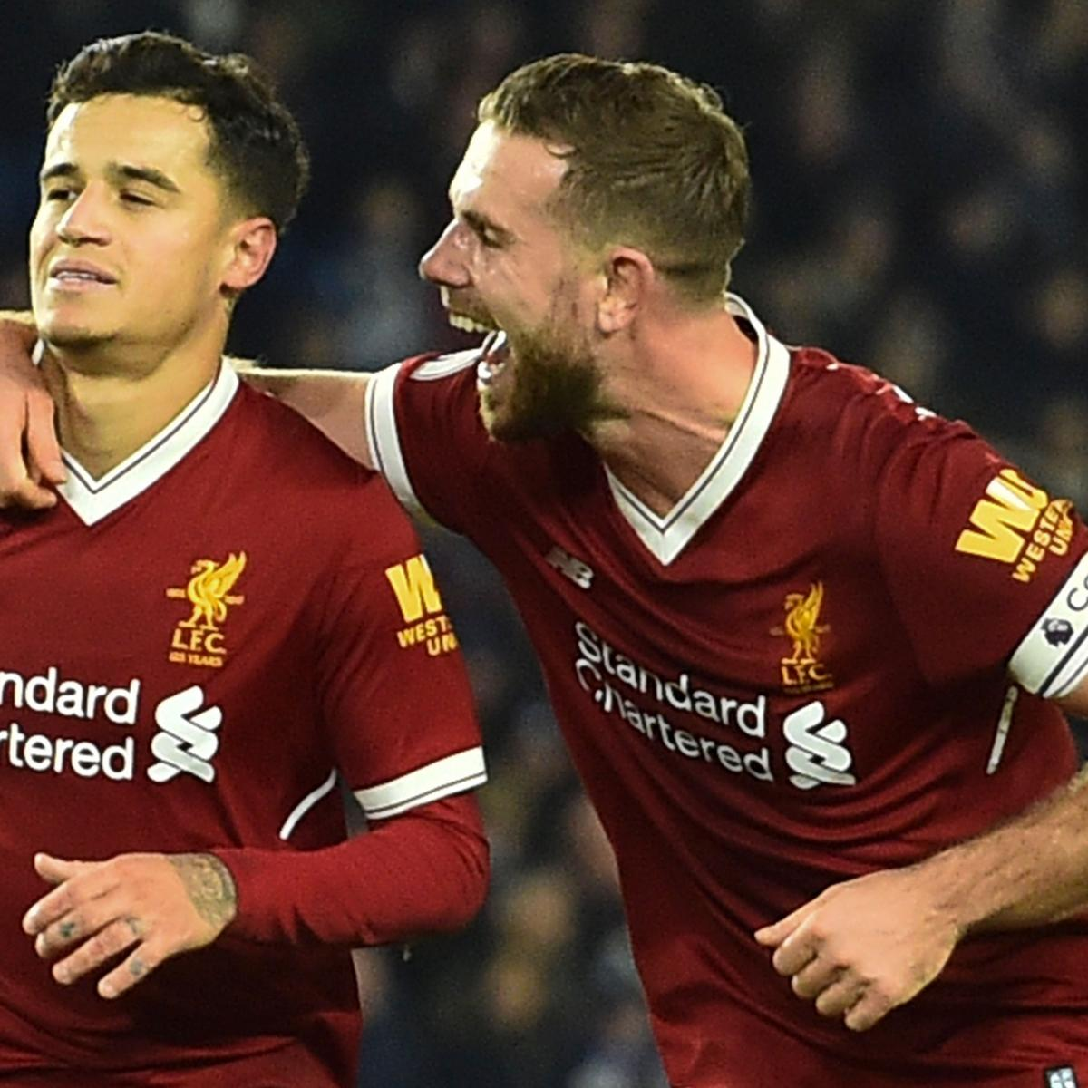 Philippe Coutinho's Time at Liverpool 'Has Passed,' Says Jordan Henderson
