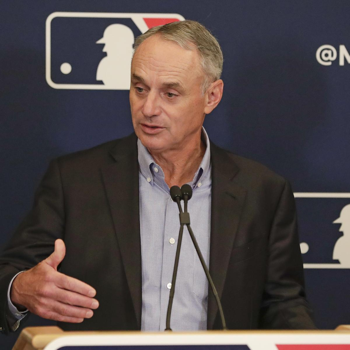 Rob Manfred: 'I Hate Where We Are' with MLB's Sign-Stealing and Technology
