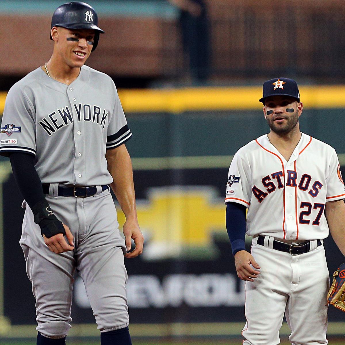 Yankees' Aaron Judge: Astros' 2017 WS Title Wasn't Earned, Punishment Was Weak