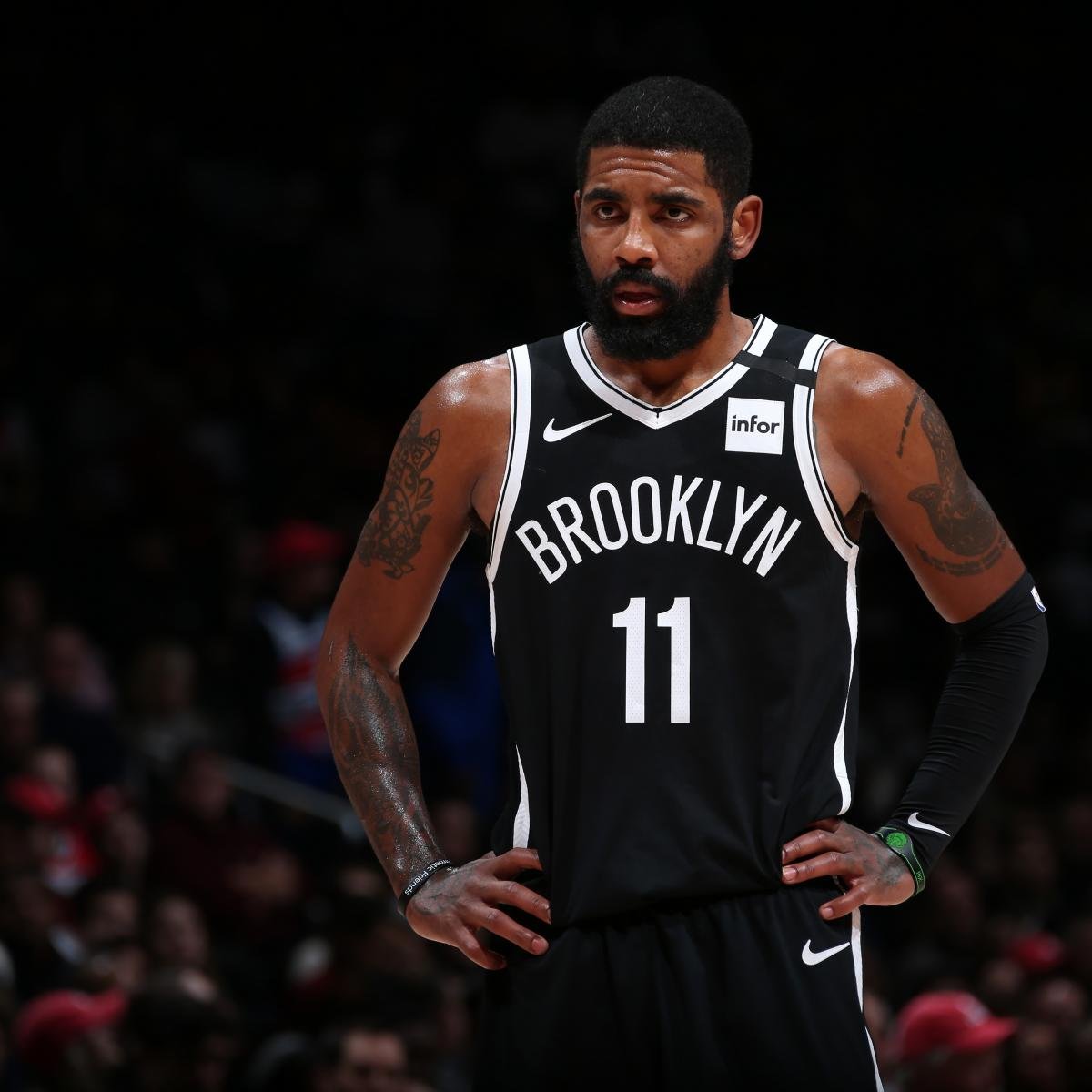 Nets' Kyrie Irving Out Indefinitely After Reaggravating Shoulder Injury