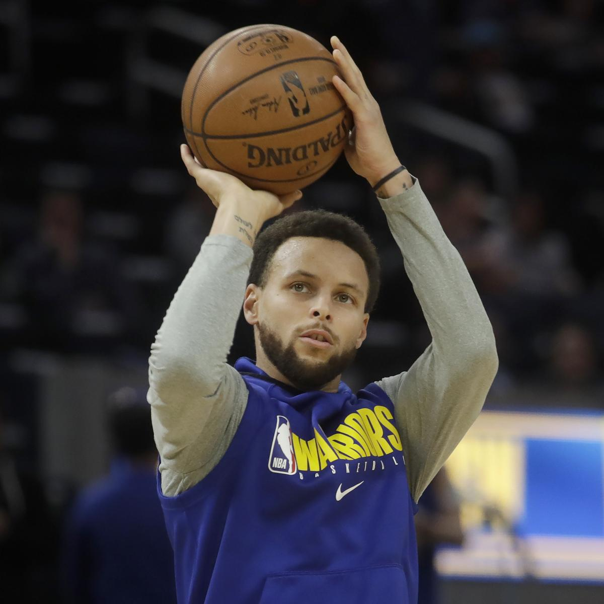 Stephen Curry Return from Hand Injury Uncertain; Warriors to Update in 2 Weeks