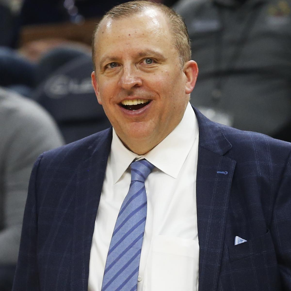 Knicks Rumors: Tom Thibodeau 'Can Taste' NY HC Job Amid Jeff Van Gundy Buzz