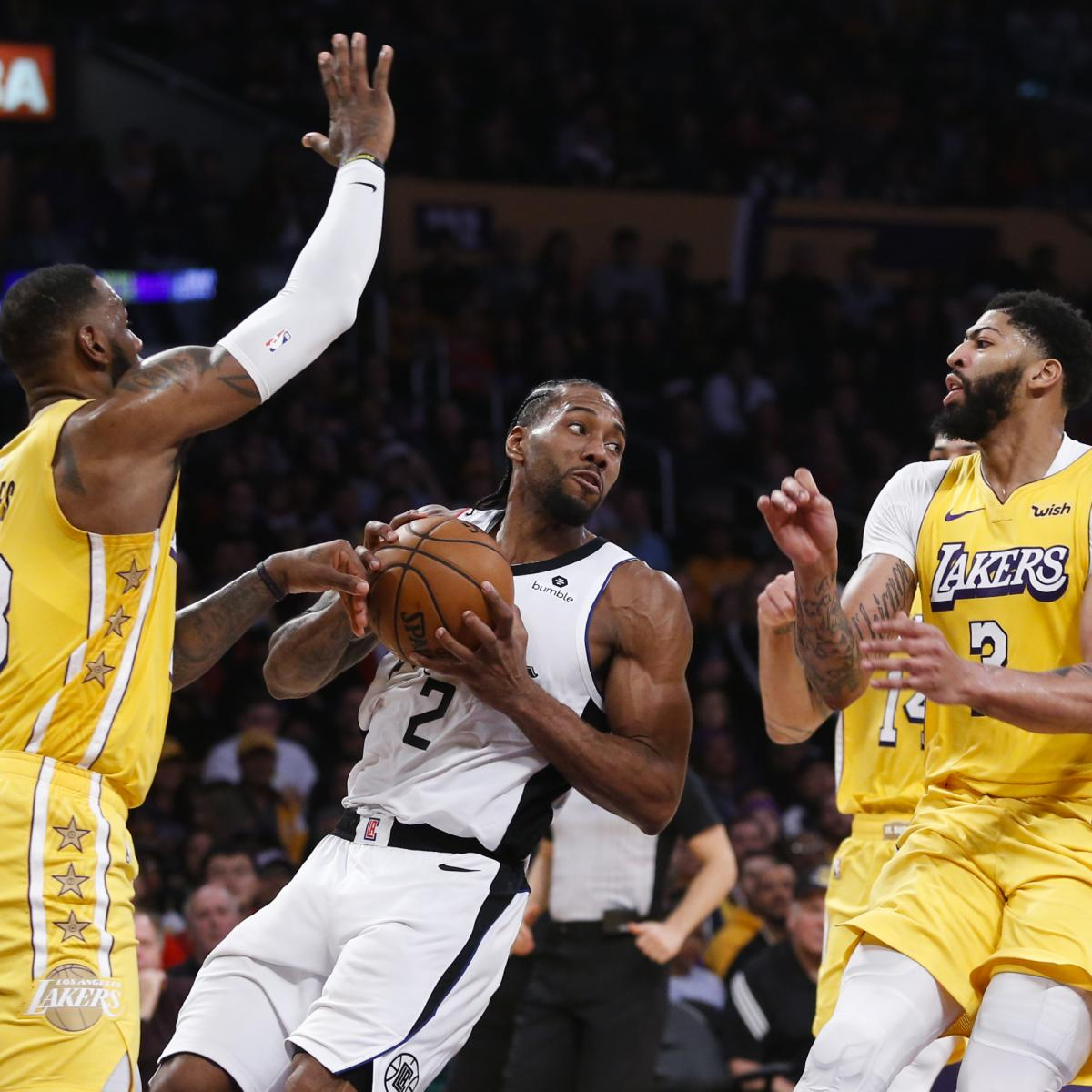 Magic Johnson: Clippers Deeper Than Lakers; LeBron, Anthony Davis Will Be Key