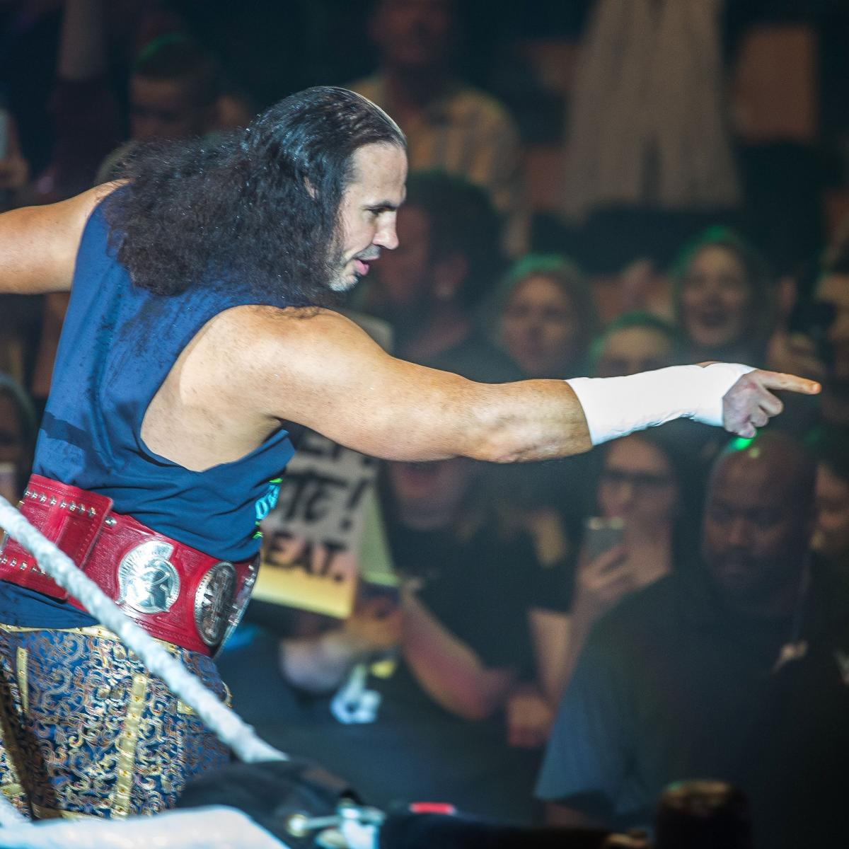 Matt Hardy Teases AEW in Cryptic Tweet About WWE Future After Orton's Attack