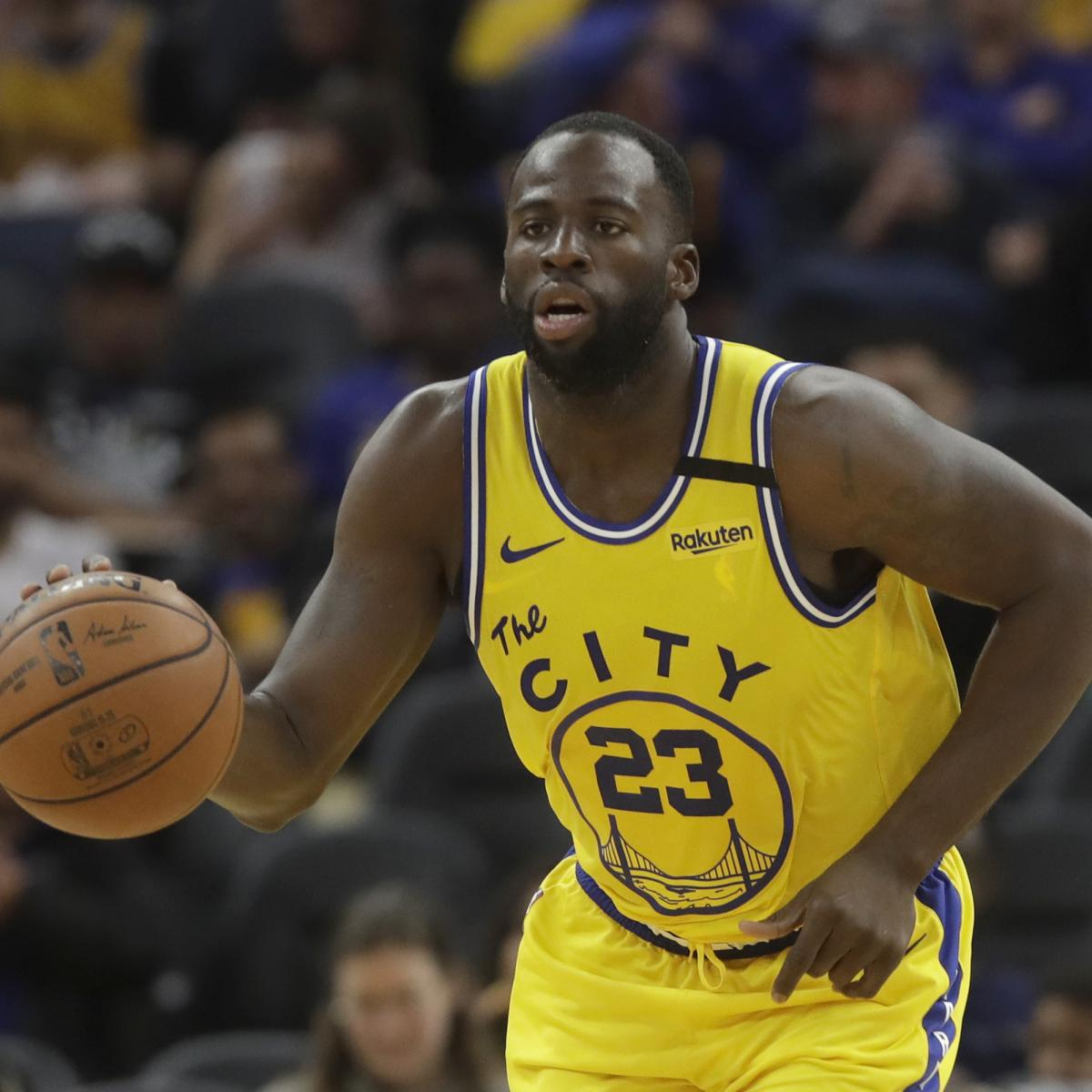Draymond Green Jokes He Wants Warriors Contract Buyout to Join Playoff Contender