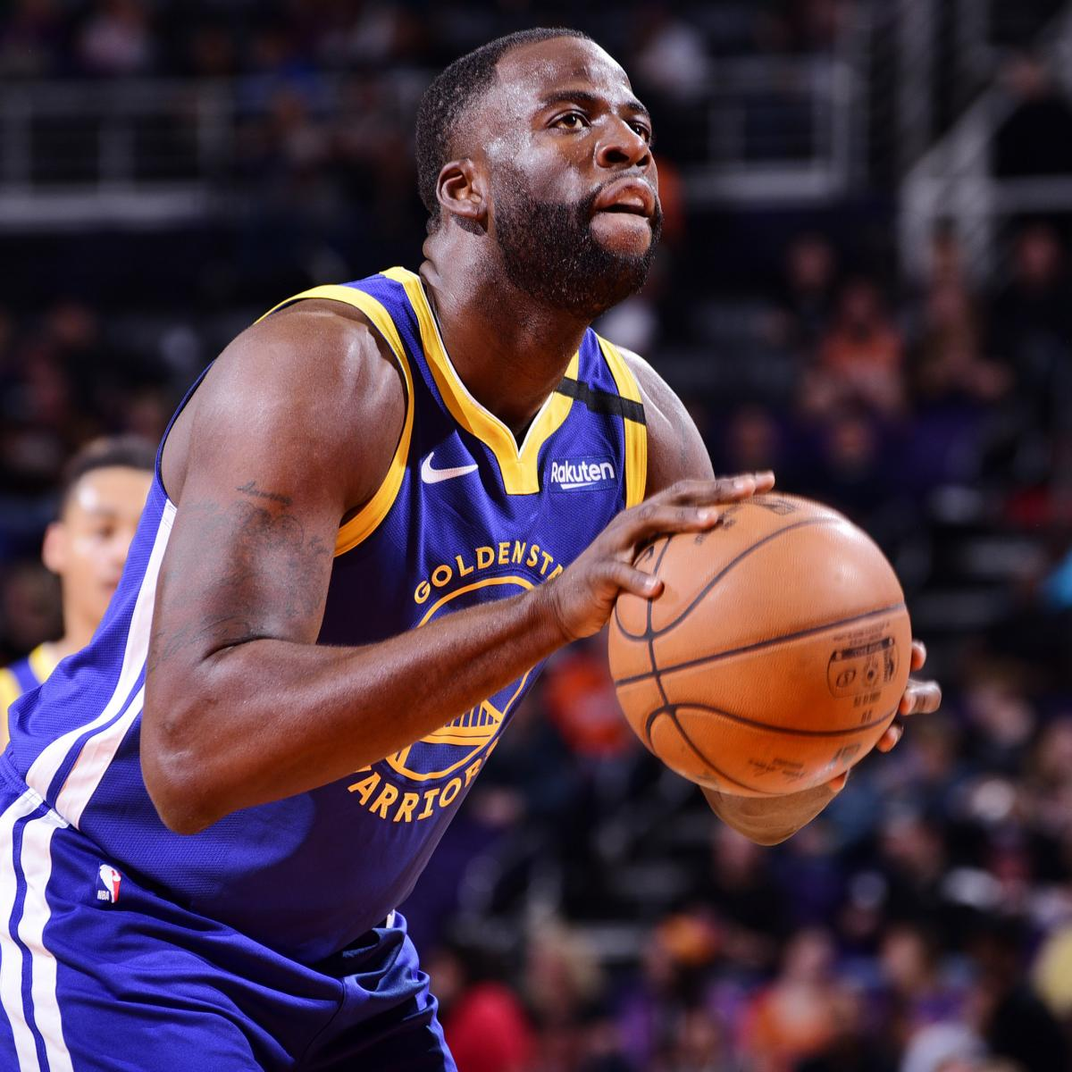 Warriors' Draymond Green Defends Andrew Wiggins: He's 'Not a F--king Bum'