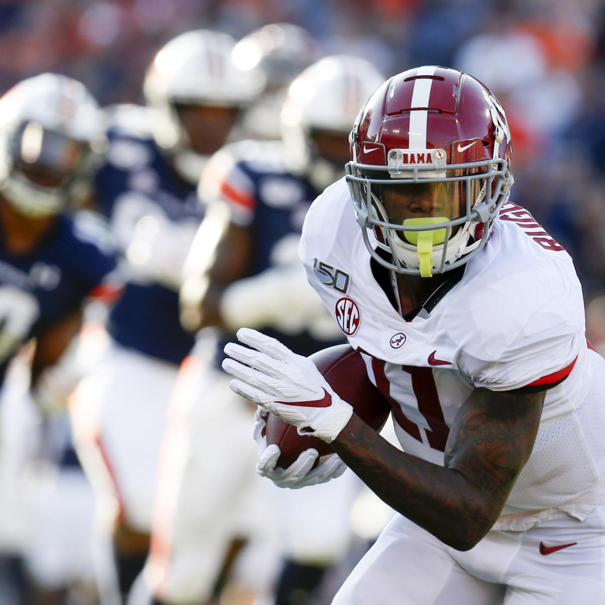 2020 NFL Mock Draft: Full 1st-Round Projections for Top-Tier Prospects