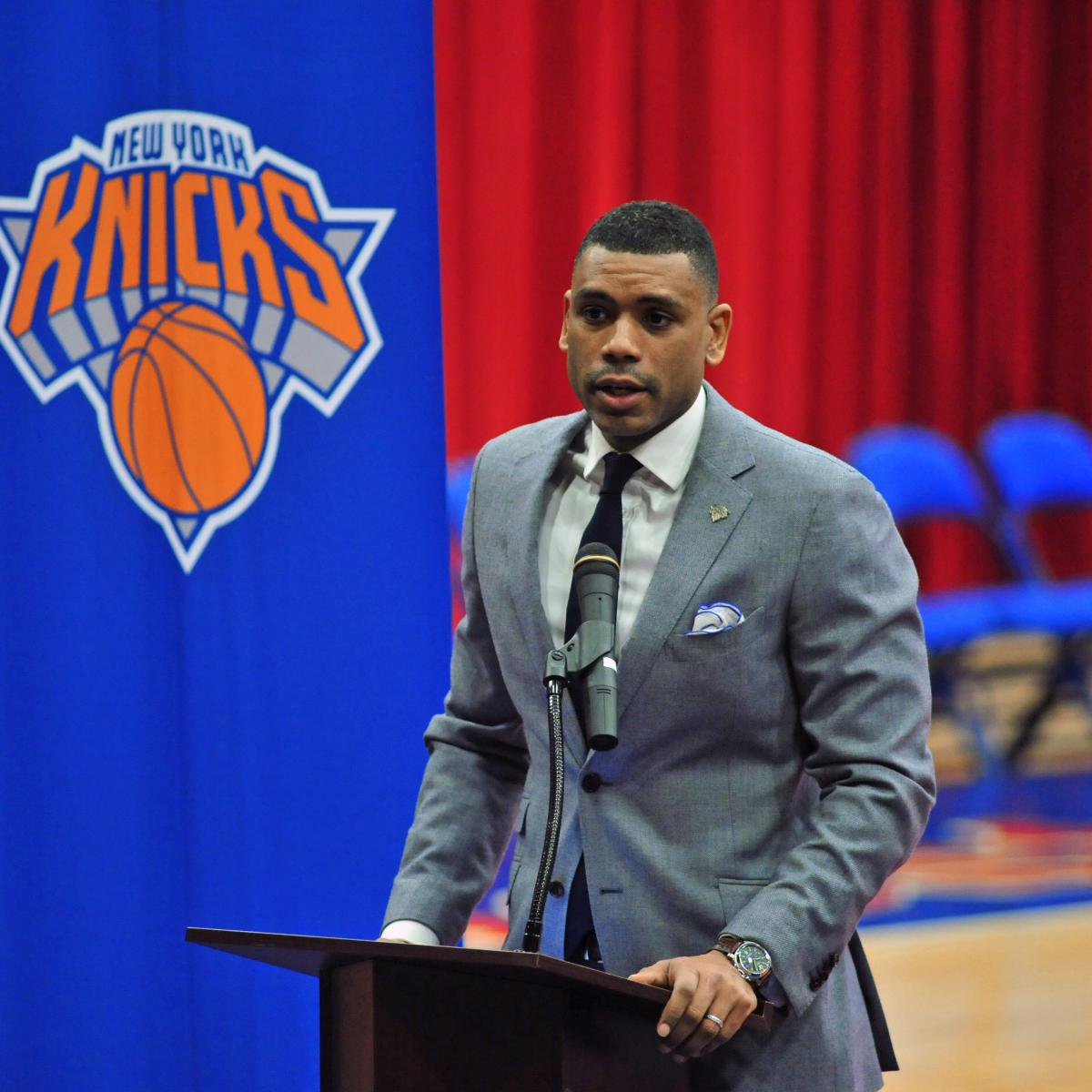 Knicks Rumors: Allan Houston Considered for Promotion in NY's Front Office