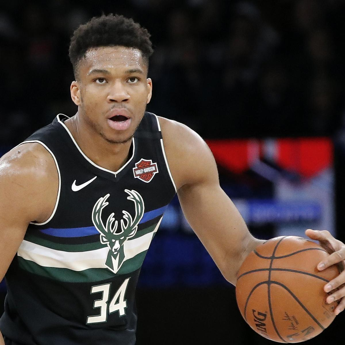 NBA Rumors: Giannis Antetokounmpo Expected to Sign New Bucks Contract in 2020