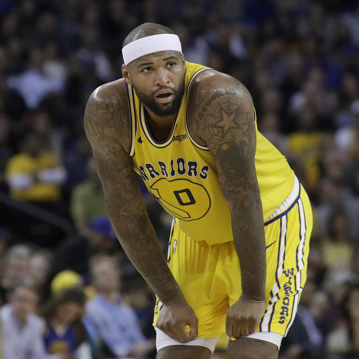 DeMarcus Cousins Says He Played Through Injury for Warriors in 2019 NBA Playoffs