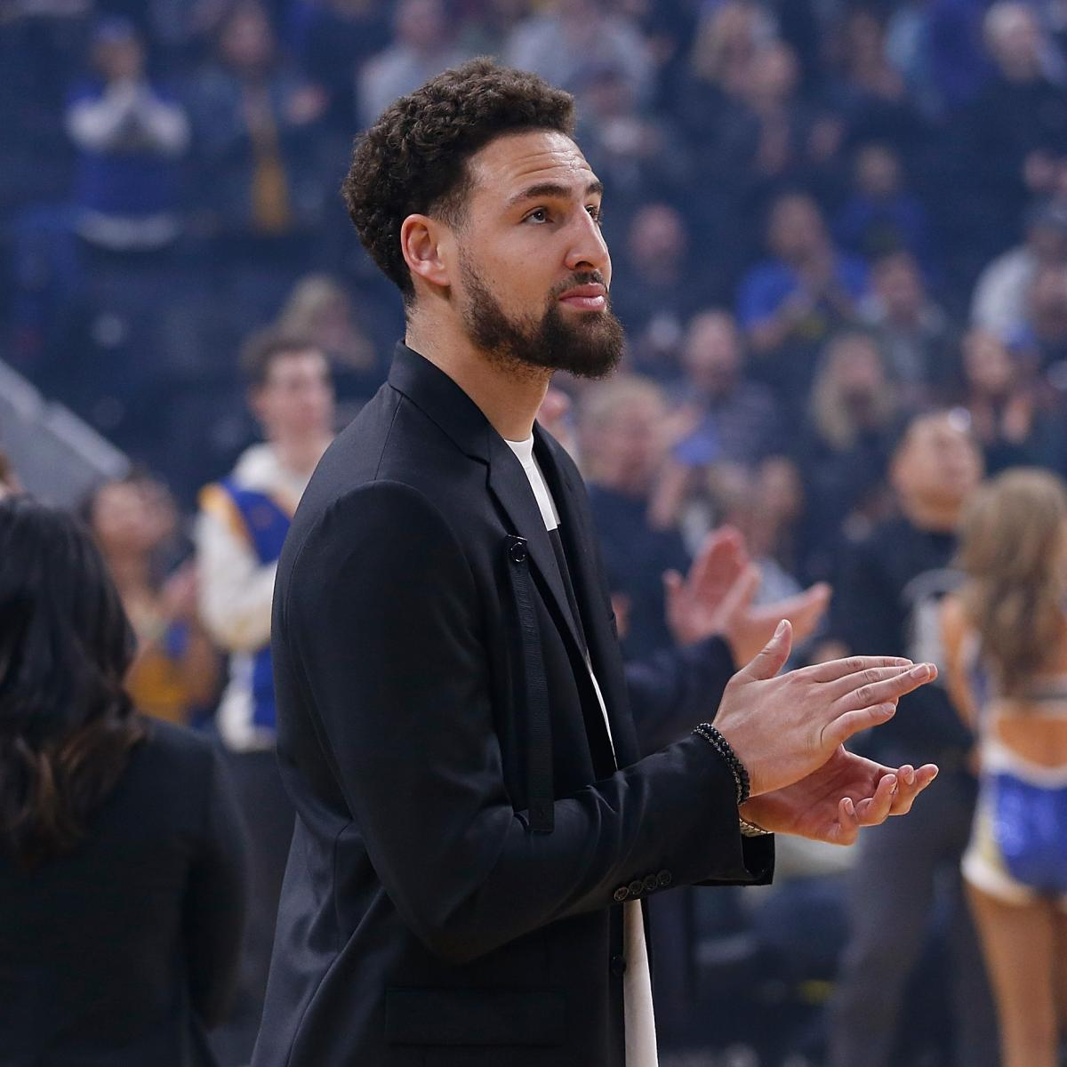 Warriors News: Klay Thompson Ruled out for 2019-20 Season Amid ACL Injury