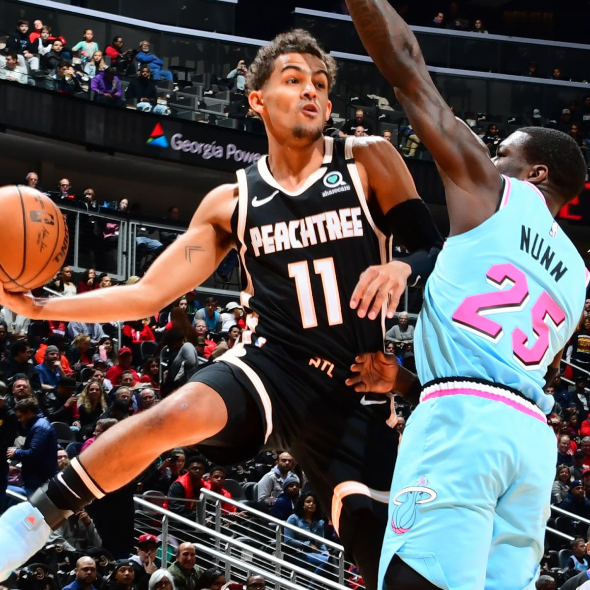 Trae Young Drops Career-High 50 Points as Hawks Stun Jimmy Butler, Heat