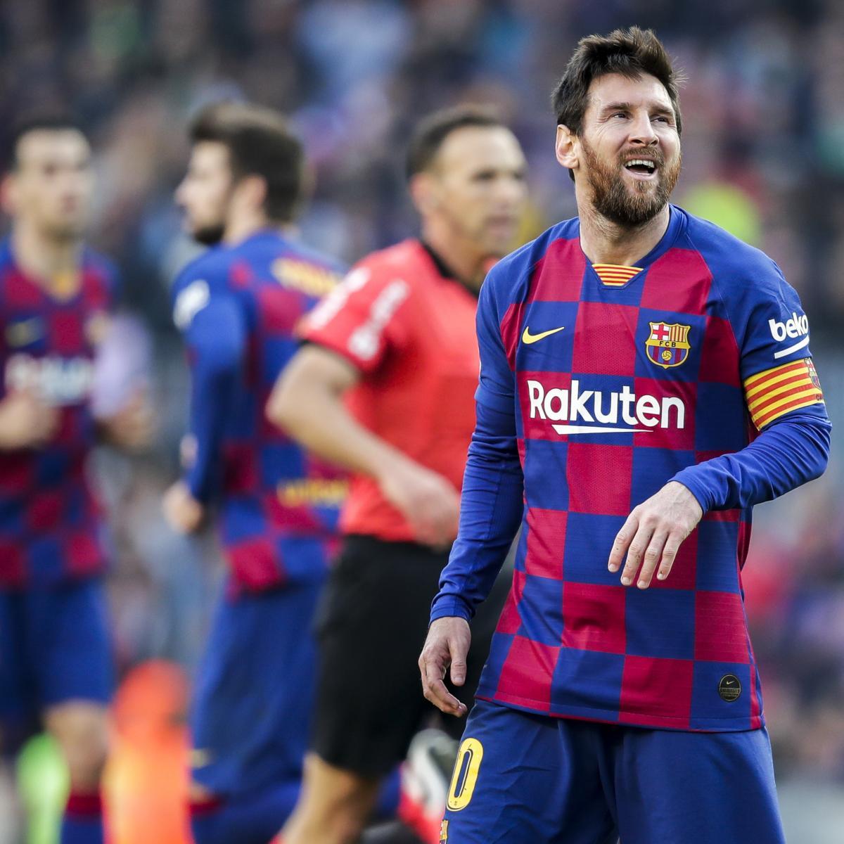'B-----d' Lionel Messi Rests During Games, Says Jose Luis Mendilibar