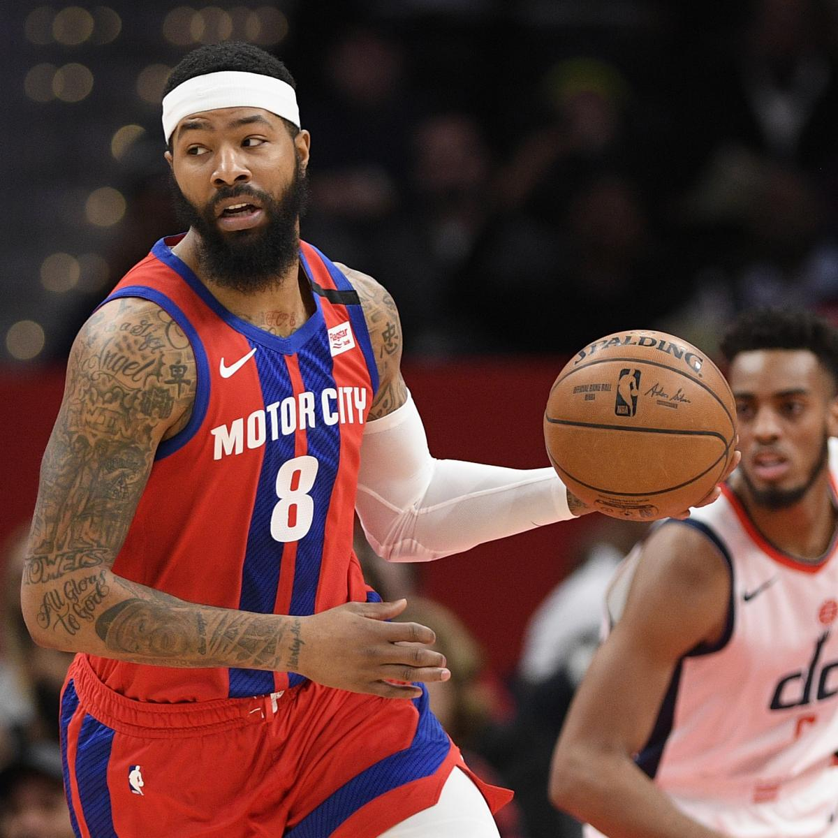 Lakers Rumors: LA 'Front-Runners' to Sign Markieff Morris After Pistons Buyout