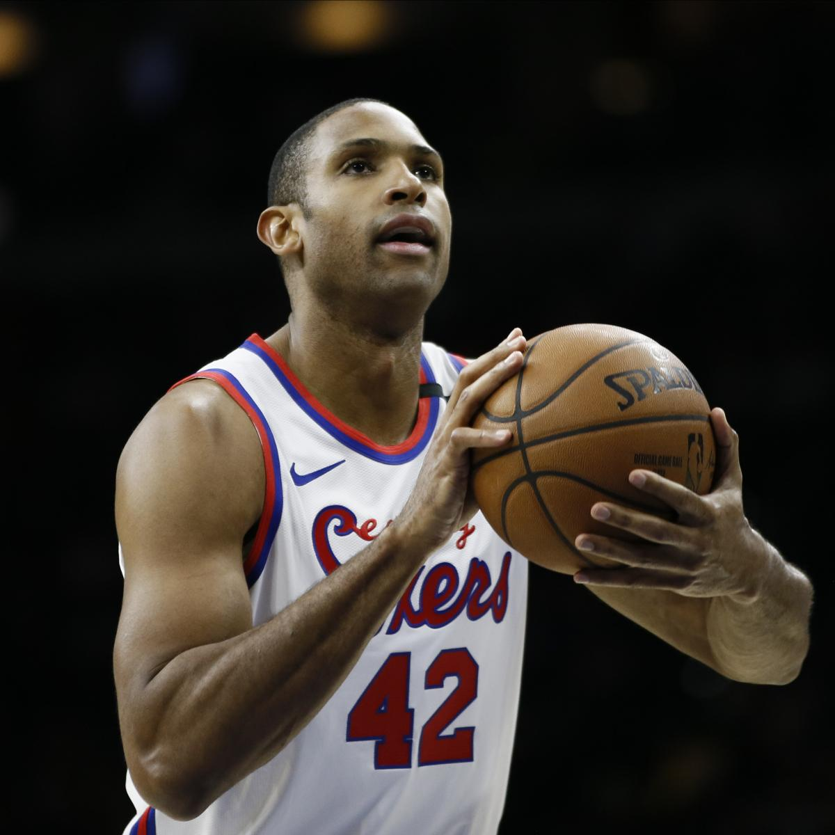 76ers' Brett Brown on Al Horford After Benching: 'I Want to Help Him Help Us'
