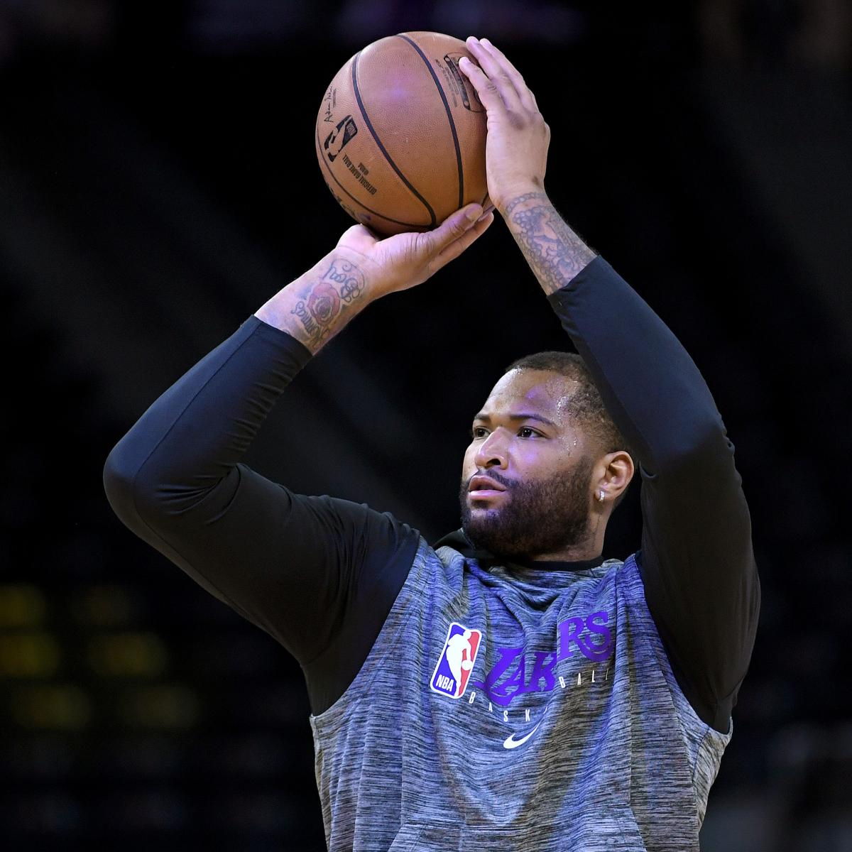 Lakers News: DeMarcus Cousins Waived as Markieff Morris Signs Contract