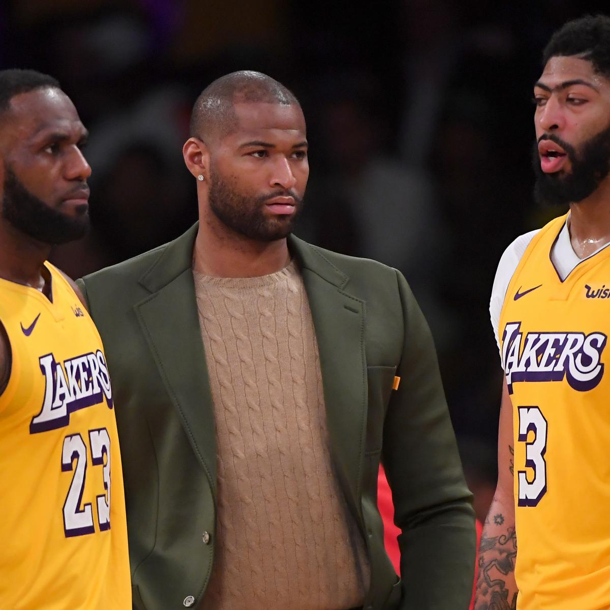 What's Next for Lakers, DeMarcus Cousins with LA Set to Waive 4-Time All-Star?