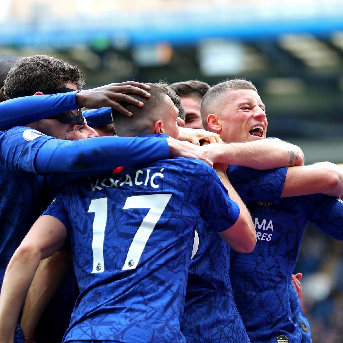 Olivier Giroud, Marcos Alonso Lead Chelsea to Dominant Win vs. Tottenham