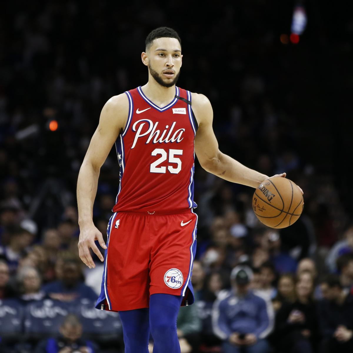 76ers' Ben Simmons out vs. Bucks After Reaggravating Back Injury