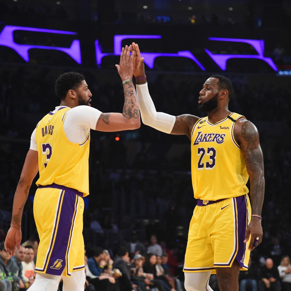 Lakers' LeBron James Praises Anthony Davis as NBA's DPOY After Win vs. Grizzlies