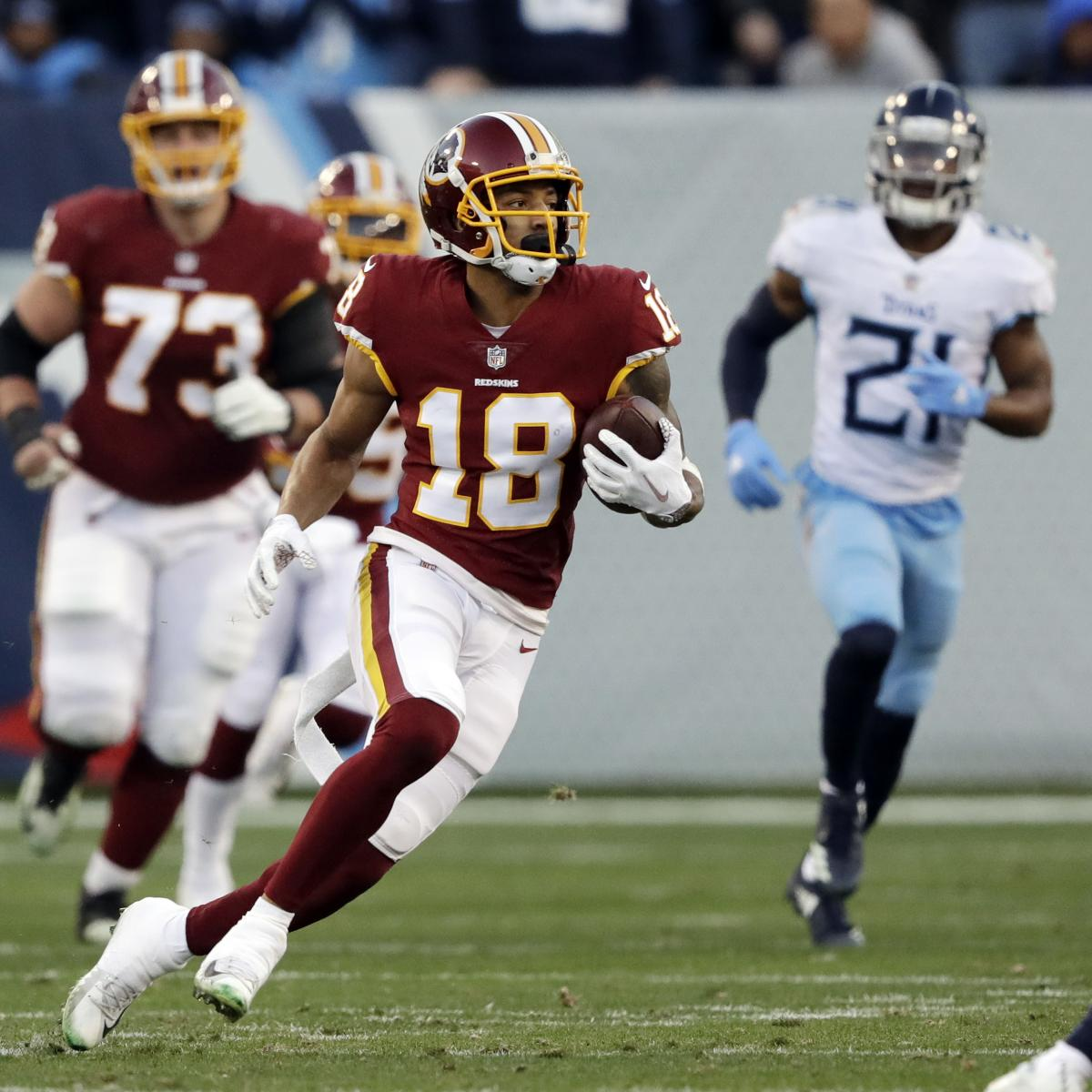 Ex-Redskins, Vikings WR Josh Doctson, Jets Agree to Contract