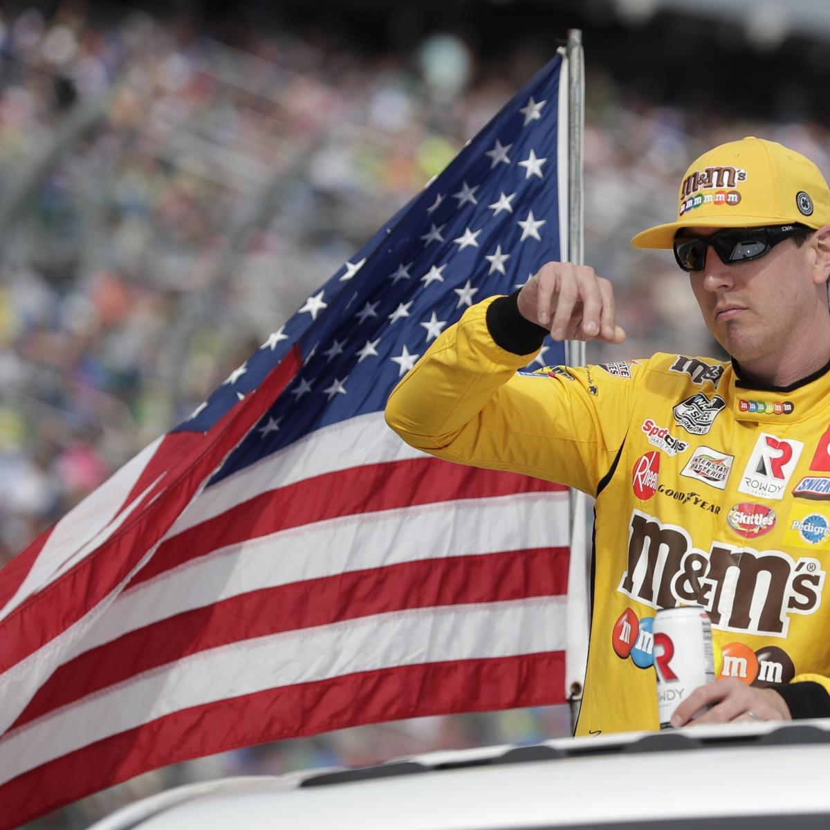 NASCAR at Las Vegas Qualifying Canceled, Kyle Busch Dropped to Rear of Grid