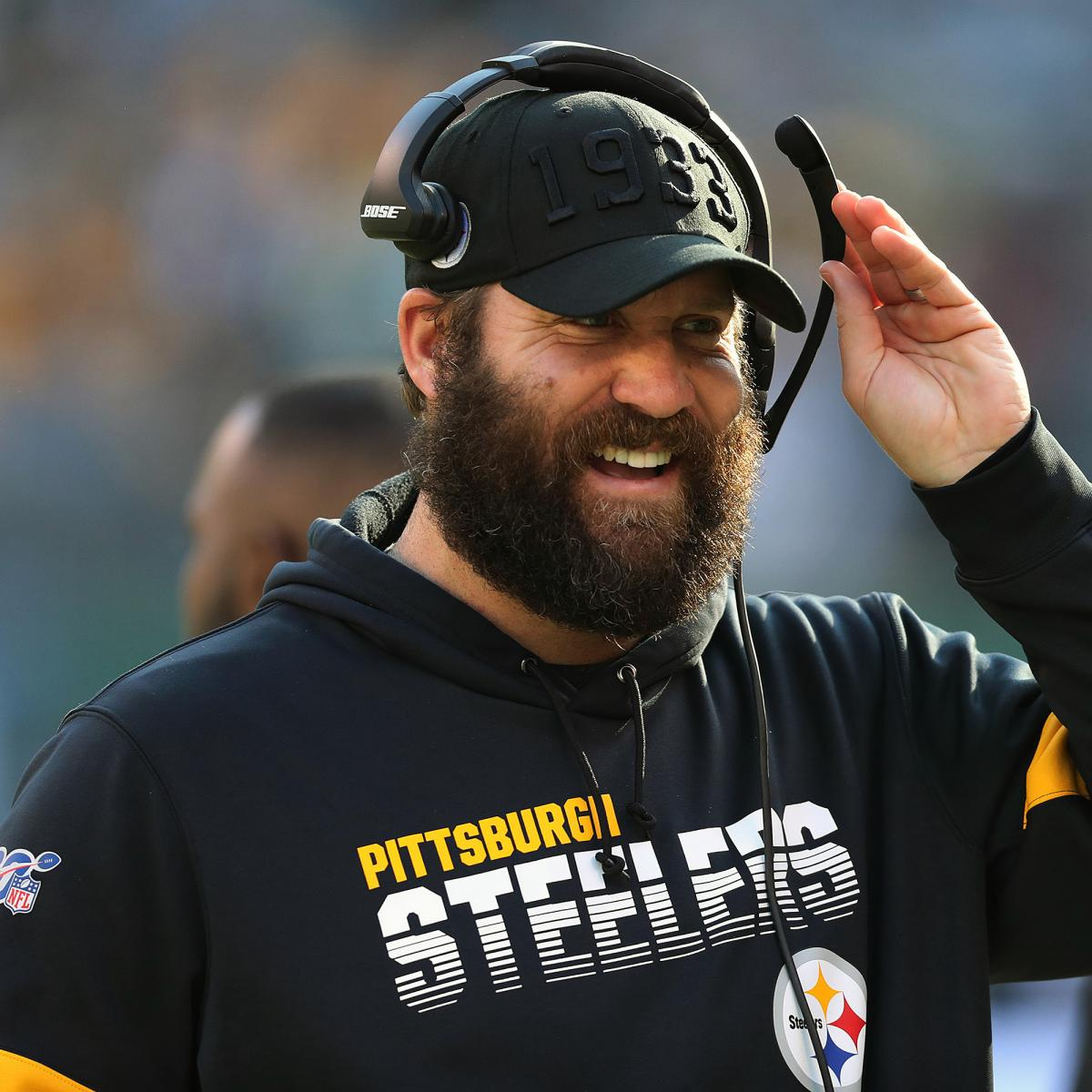 Steelers' Ben Roethsliberger Resumes Throwing in Recovery from Elbow Injury