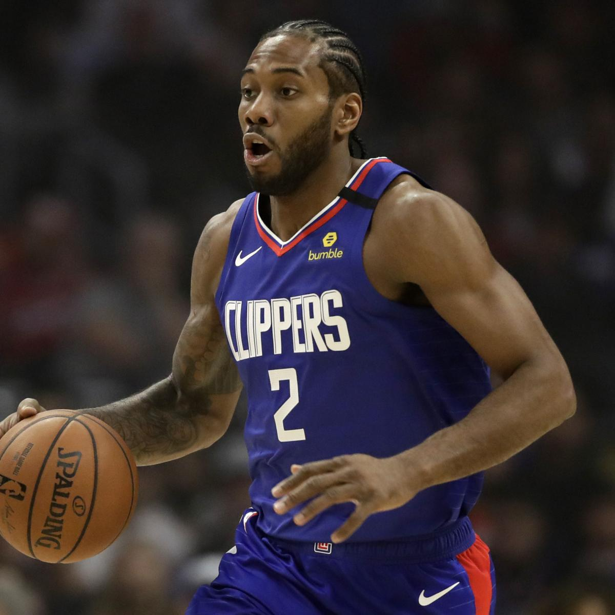 Kawhi Leonard Says 'Time Is Now' for Clippers to Improve After Loss to Kings