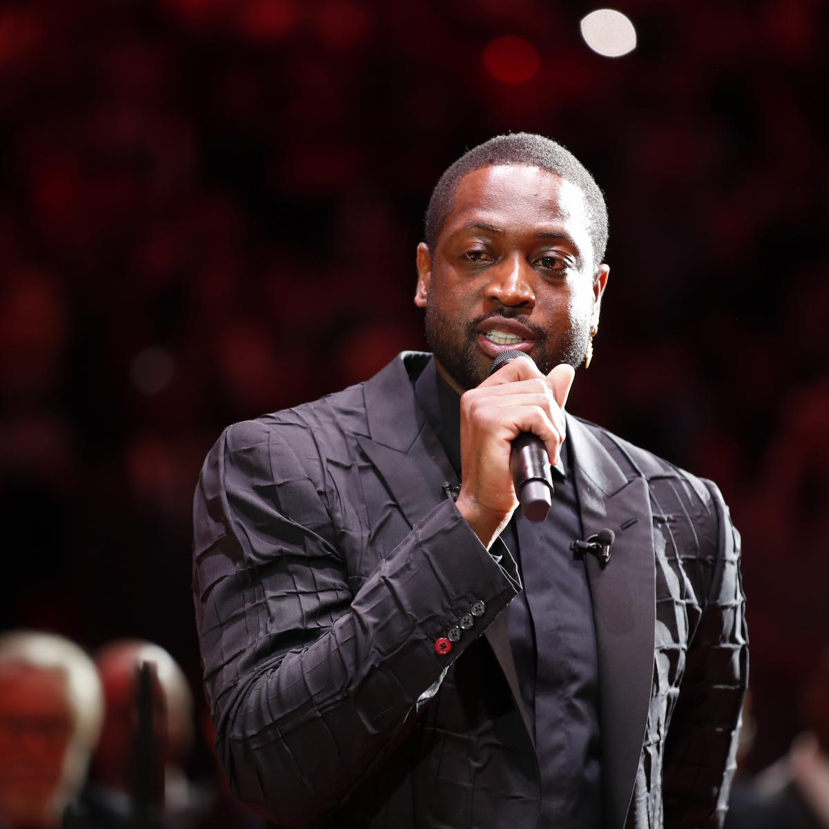 Dwyane Wade Quotes Kobe Bryant During Heat Jersey Retirement Ceremony