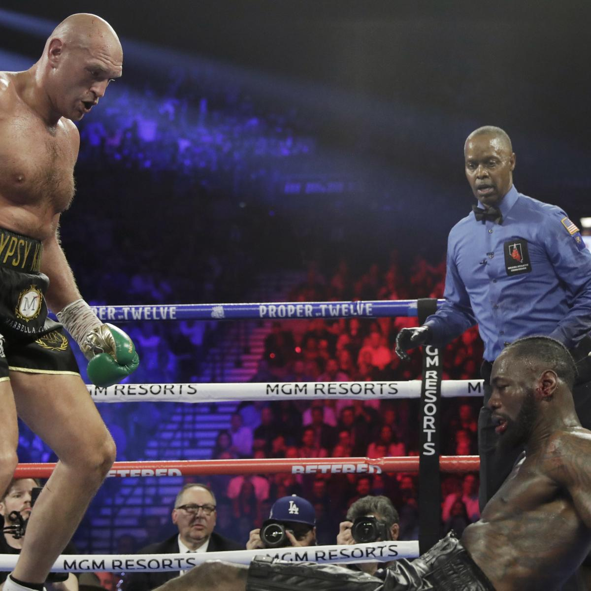 Deontay Wilder Wishes His Corner Hadn't Stopped Fight in TKO Loss to Tyson Fury