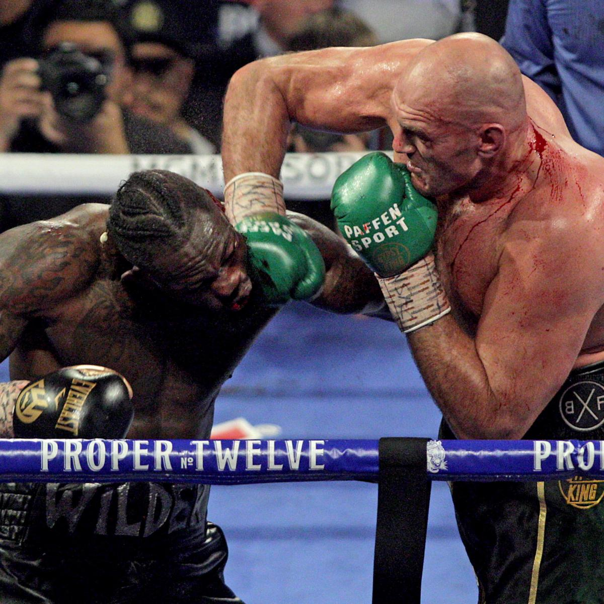 Deontay Wilder Taken to Hospital After TKO Loss to Tyson Fury, Misses Presser