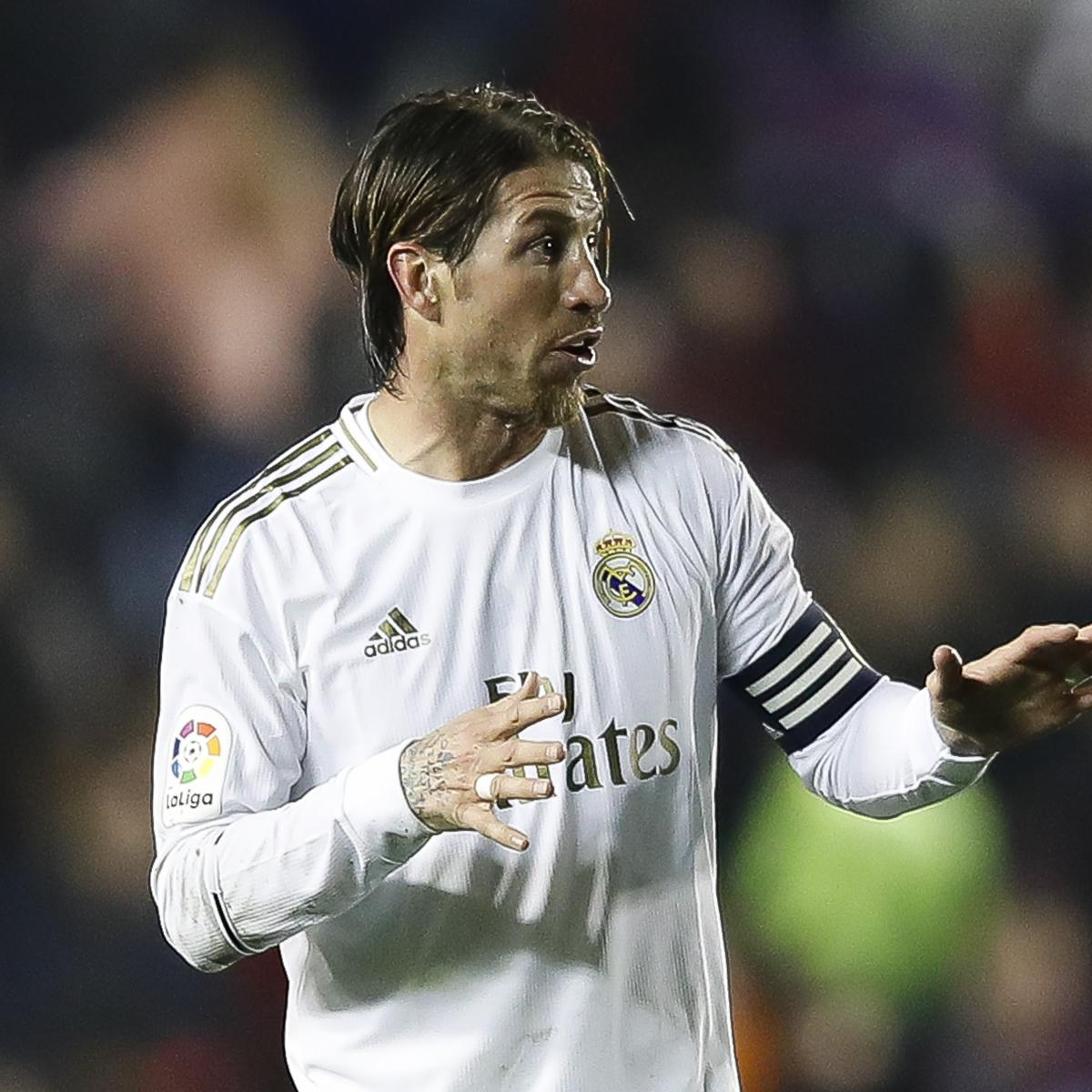 Sergio Ramos Slams Referee After Real Madrid Defeat to Levante