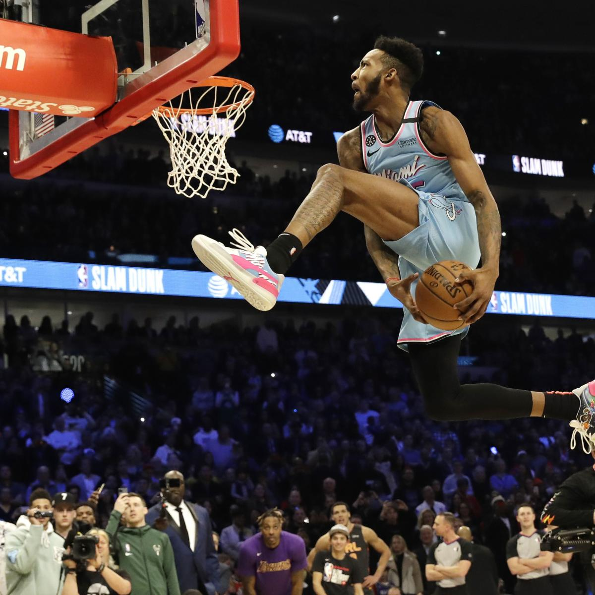Derrick Jones Jr. Says 'I Laugh At' Aaron Gordon-Slam Dunk Contest Controversy