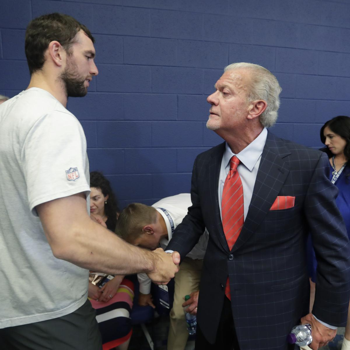 Jim Irsay Says He Hasn't Asked Andrew Luck to Return to Colts After Retiring