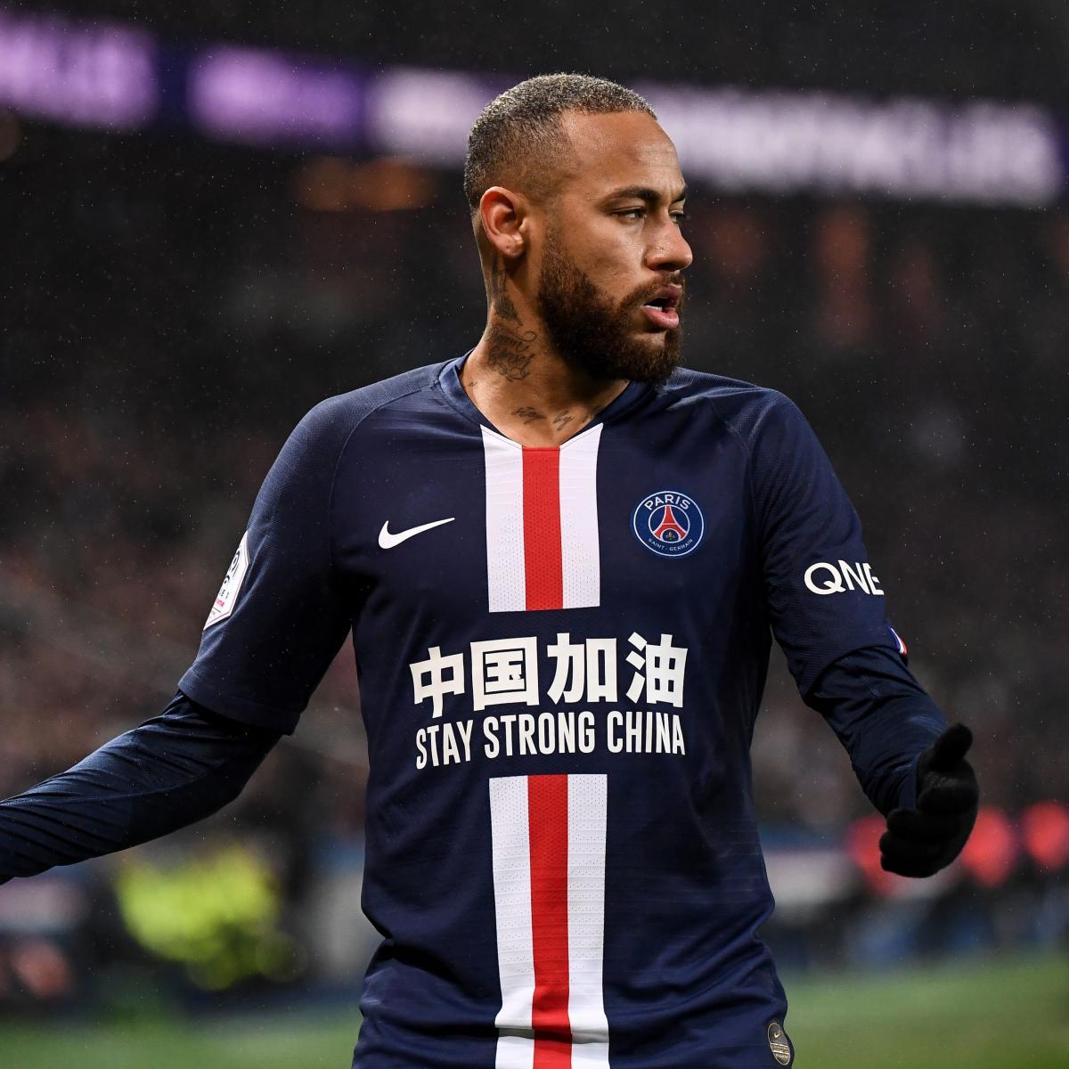 Neymar Sent Off, Edinson Cavani Scores 200th PSG Goal in Win vs. Bordeaux