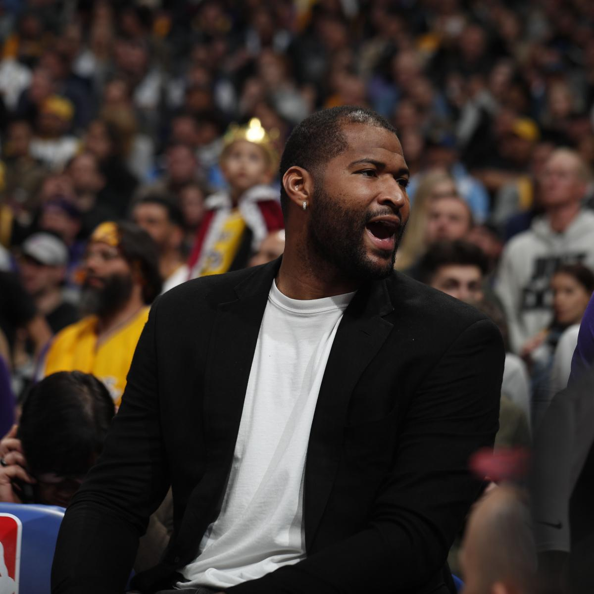 DeMarcus Cousins Rumors: Lakers Interested in Re-Signing Center in Free Agency