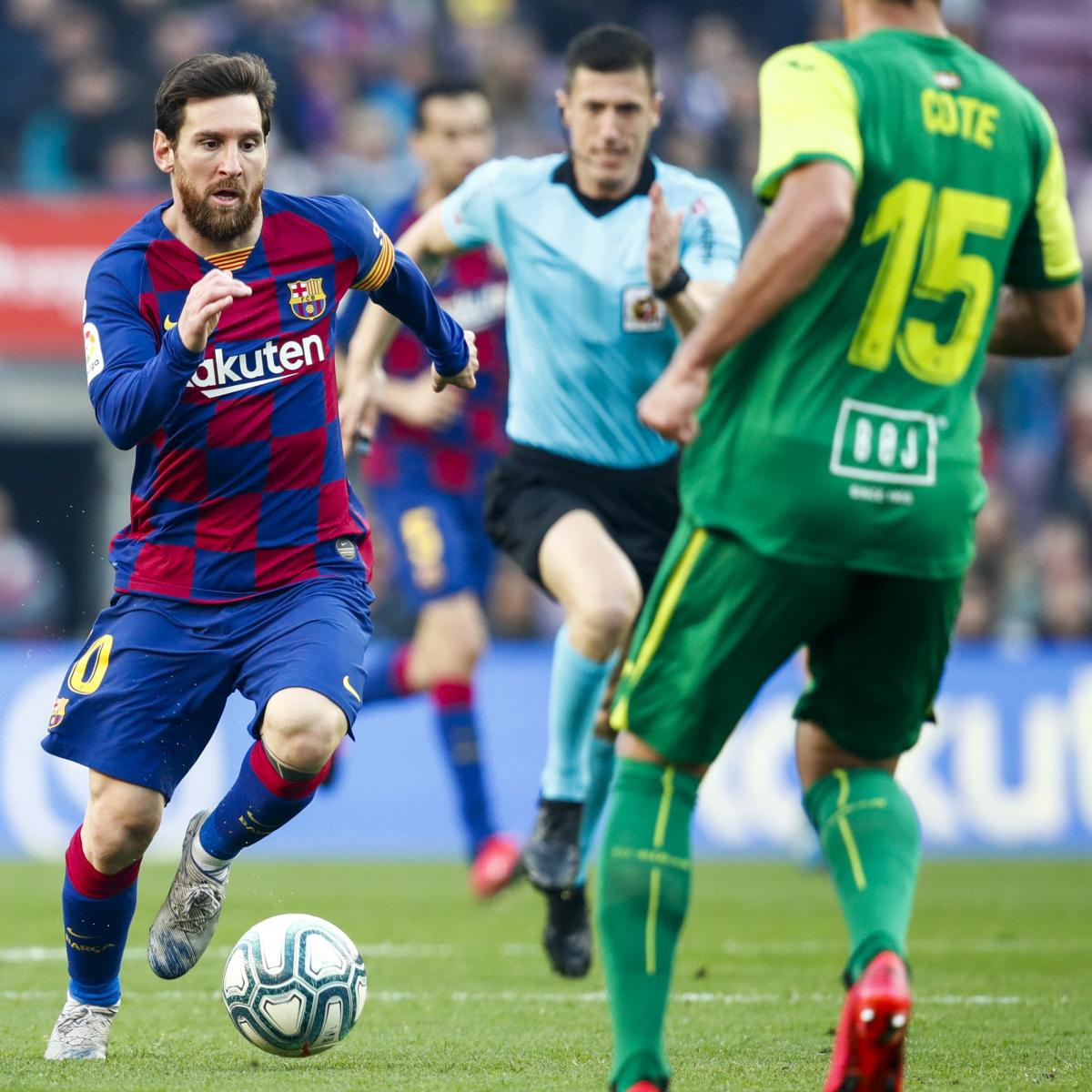 Lionel Messi, Koke, Nabil Fekir and La Liga Team of the Week After Matchday 25