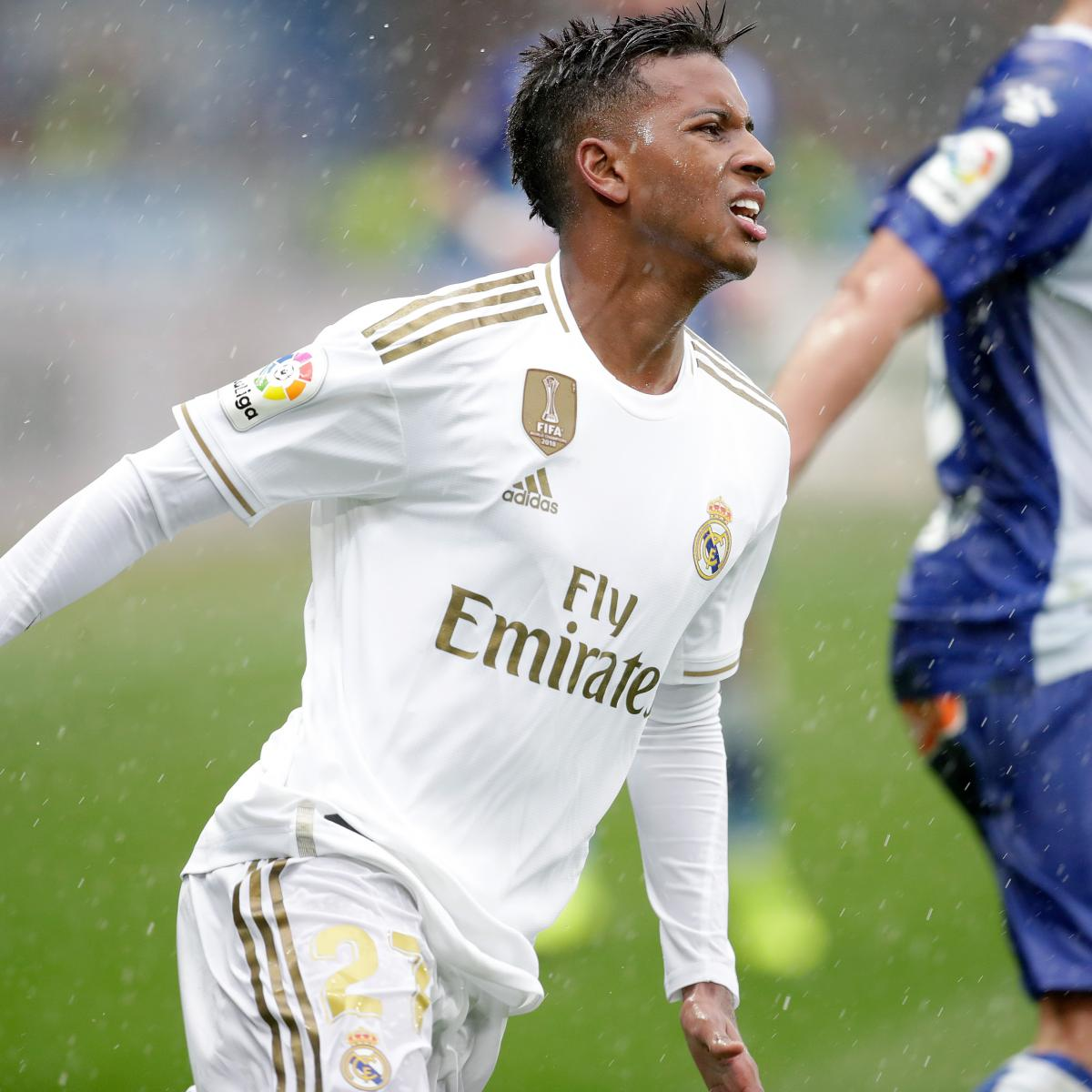 Rodrygo Acted 'Like a Brat' in Real Madrid Castilla Dismissal, Says Xabi Irureta