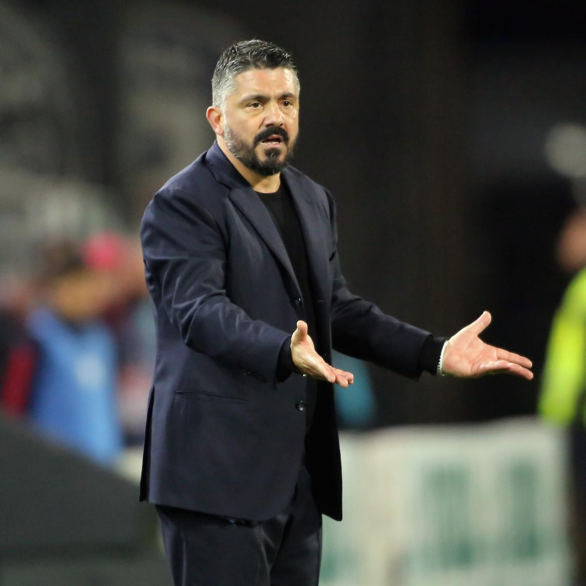 Napoli's Gattuso: 'You Can't Stop' Lionel Messi, Won't 'Man Mark' Barcelona Icon