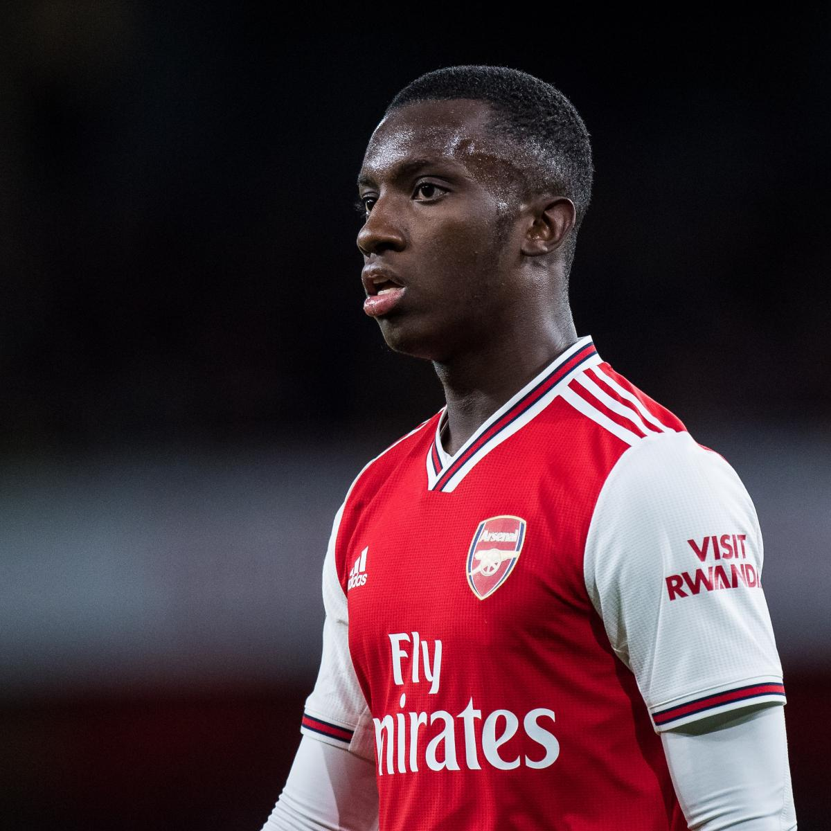 Eddie Nketiah Says Lacazette, Aubameyang 'Always' Looking to Help Him at Arsenal