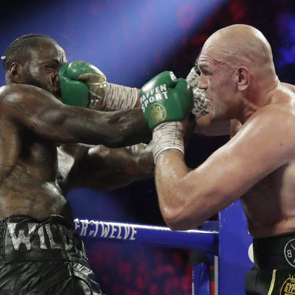 Deontay Wilder to Use Tyson Fury Rematch Clause; Says Legs Weakened by Costume