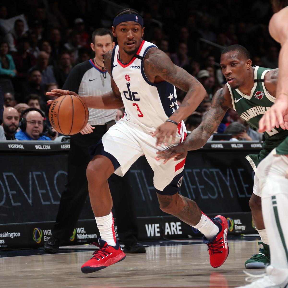 Bradley Beal Becomes 11th Player in NBA History with Back-to-Back 50-Point Games