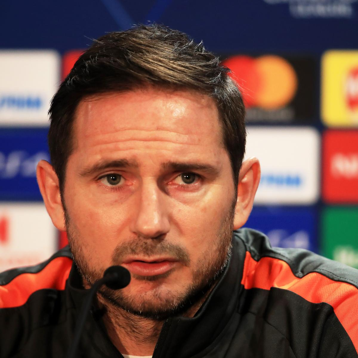 Frank Lampard Says Chelsea Can 'Overcome Being the Underdog' vs. Bayern Munich