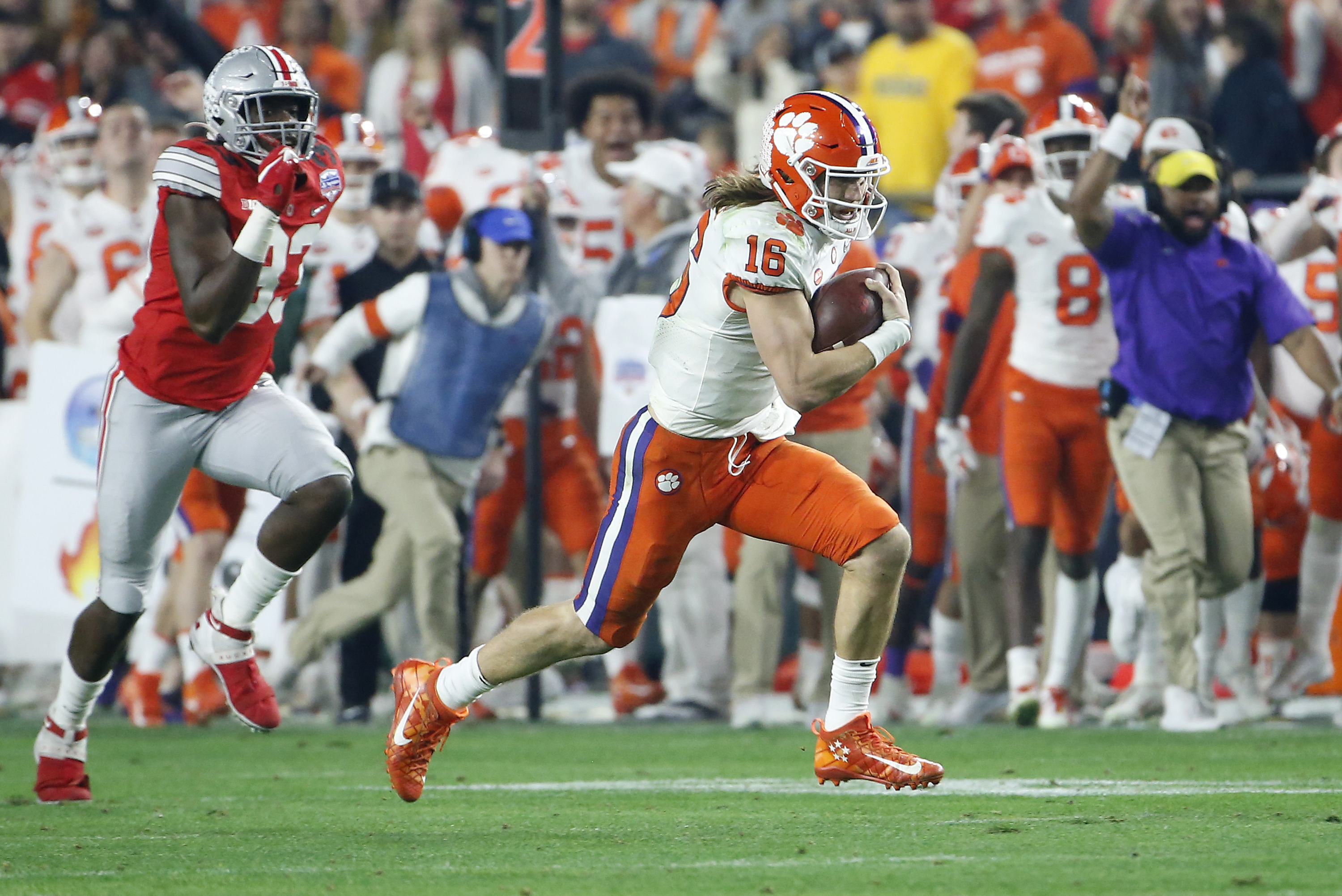 Can Anyone Catch Trevor Lawrence as the No. 1 Pick in 2021 ...
