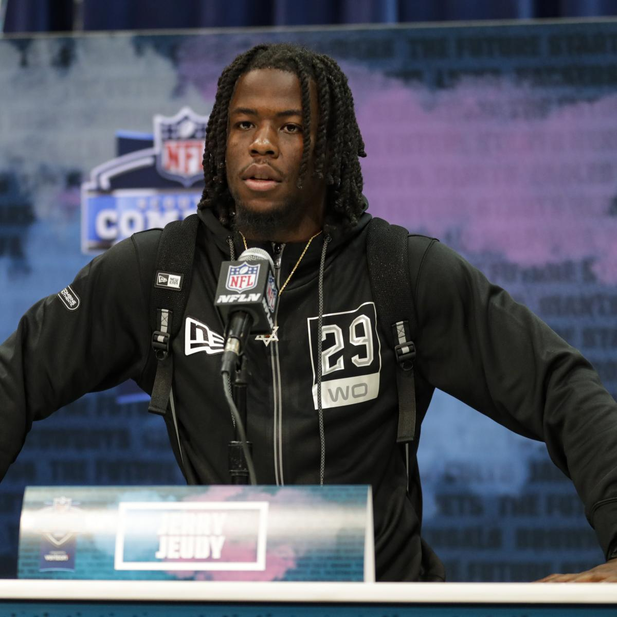 Jerry Jeudy Apologizes for Star of David Necklace Worn at 2020 NFL Combine