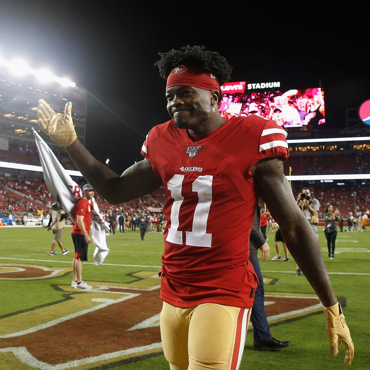 Kyle Shanahan: 49ers Open to Trading Marquise Goodwin; 'Too Valuable' to Release