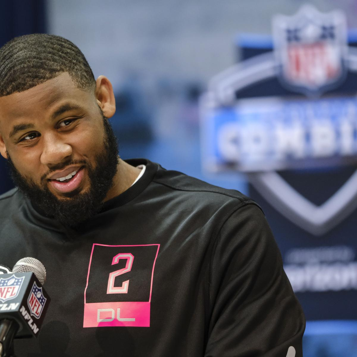 Ross Blacklock Found out from Raiders at NFL Combine He Had 37 Parking Tickets